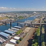 Foss Waterway in downtown Tacoma